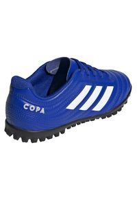 Adidas - Buty piłkarskie dla dzieci adidas Copa 20.4 TF EH0931. Okazja: na imprezę. Materiał: skóra, syntetyk. Szerokość cholewki: normalna. Sezon: lato. Sport: piłka nożna