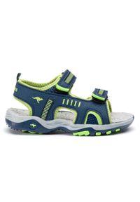 Niebieskie sandały KangaRoos klasyczne, na lato