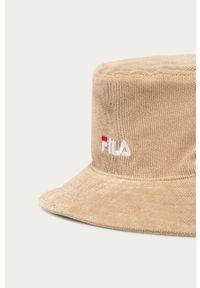 Beżowy kapelusz Fila