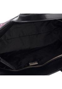 Czarna torebka klasyczna Versace Collection skórzana, klasyczna