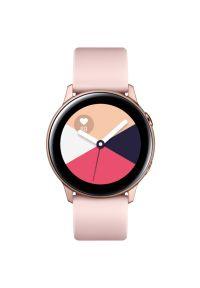 Różowy zegarek SAMSUNG smartwatch, sportowy