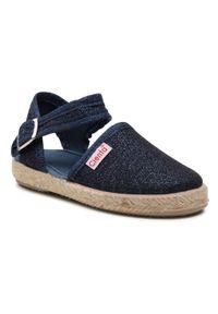 Niebieskie sandały Cienta