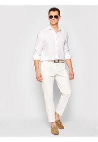 North Sails Koszula Pure 663524 Biały Regular Fit. Kolor: biały