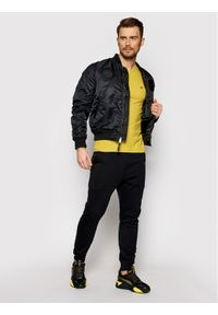Napapijri T-Shirt Salis C SS NP0A4EW8 Żółty Regular Fit. Kolor: żółty