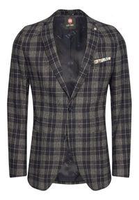 CG - CLUB of GENTS Marynarka Cg Adkyn Sv 221022-003 Granatowy Tailored Fit. Kolor: niebieski #6