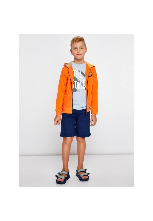 Pomarańczowa bluza Mayoral
