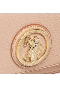 U.S. Polo Assn - Torebka U.S. POLO ASSN. - Brookshire Flap Crossbody BEUBS5068WVP547 Light Taupe. Kolor: brązowy. Materiał: skórzane #6