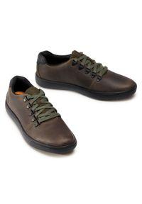 Zielone sneakersy Timberland z cholewką