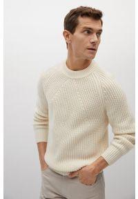 Sweter Mango Man długi, casualowy
