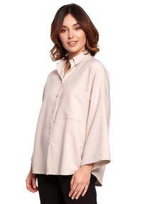 Beżowa koszula MOE