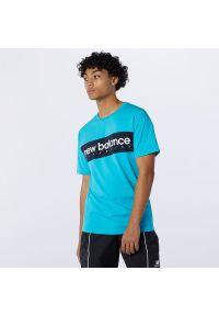 T-shirt New Balance krótki, na co dzień, casualowy