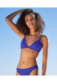 Niebieskie góra bikini Etam