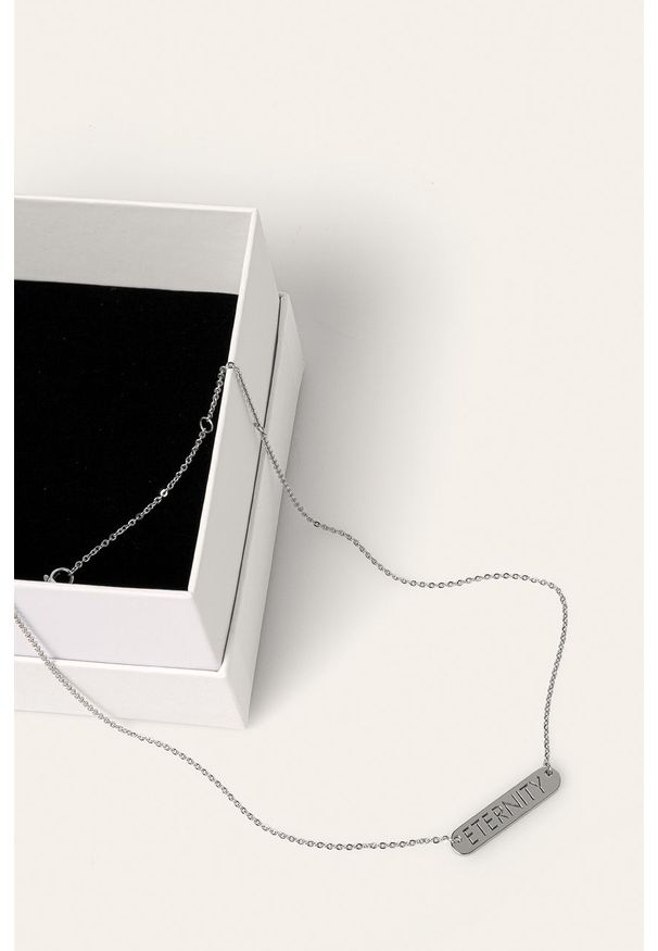 Srebrny naszyjnik Calvin Klein ze stali