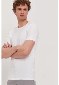 BOSS - Boss - T-shirt (2-pack). Okazja: na co dzień. Kolor: biały. Materiał: dzianina. Wzór: gładki. Styl: casual