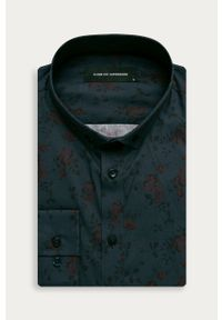 Niebieska koszula Clean Cut Copenhagen z klasycznym kołnierzykiem, na co dzień