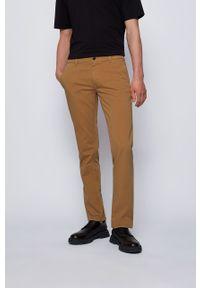 Spodnie BOSS casualowe, gładkie