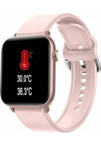 Smartwatch King Watch KW37 Różowy. Rodzaj zegarka: smartwatch. Kolor: różowy