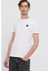 Pepe Jeans - T-shirt WALLACE. Okazja: na co dzień. Kolor: biały. Materiał: dzianina. Wzór: gładki. Styl: casual
