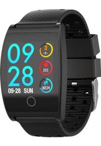 Czarny zegarek Garett Electronics smartwatch, sportowy