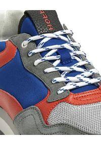 HOFF - Sneakersy Wellington. Kolor: niebieski. Materiał: jeans, materiał, zamsz. Wzór: kolorowy, nadruk