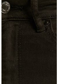 Czarne jeansy TALLY WEIJL z podwyższonym stanem