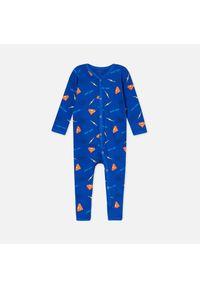 Niebieska piżama Sinsay z motywem z bajki