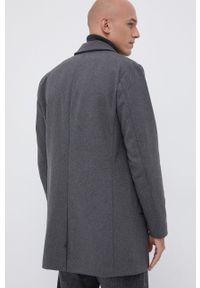 PRODUKT by Jack & Jones - Produkt by Jack & Jones - Płaszcz. Okazja: na co dzień. Kolor: szary. Materiał: poliester. Styl: casual