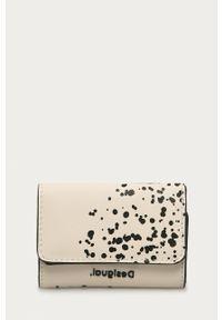 Beżowy portfel Desigual