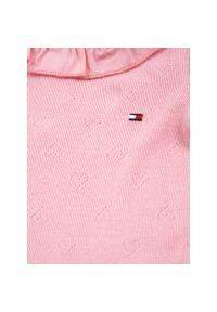 Różowe body TOMMY HILFIGER #4
