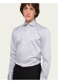 Szara koszula biznesowa Hugo
