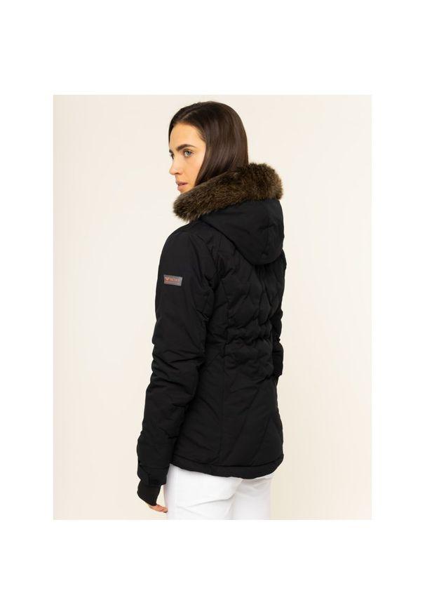 Czarna kurtka narciarska Roxy