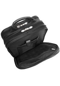 Plecak na laptopa MCKLEIN Wicker Park 15.6 cali Czarny. Kolor: czarny. Materiał: skóra. Styl: biznesowy, elegancki #5