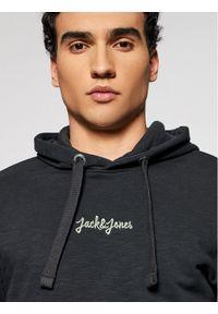 Jack & Jones - Jack&Jones Bluza Stockholm 12186285 Szary Relaxed Fit. Kolor: szary