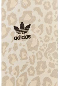 adidas Originals - Bluza. Kolor: żółty. Wzór: aplikacja