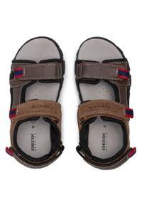 Brązowe sandały Geox