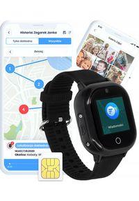Smartwatch Bezpieczna Rodzina LocoWatch Lite S Czarny. Rodzaj zegarka: smartwatch. Kolor: czarny