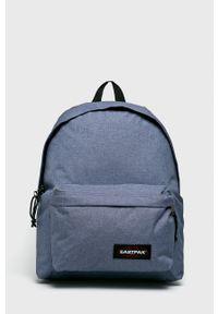 Eastpak - Plecak. Kolor: niebieski. Wzór: paski