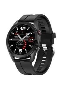 Wotchi Smartwatch W20B - Black Silicon. Rodzaj zegarka: smartwatch. Styl: casual