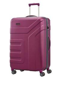 Travelite - TRAVELITE VECTOR Walizka duża 103L Pflaume 4-koła. Kolor: fioletowy. Materiał: materiał
