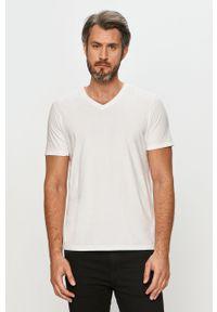 Biały t-shirt GAP casualowy, na co dzień