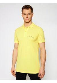 John Richmond Polo Sabanca UMP21092PO Żółty Regular Fit. Typ kołnierza: polo. Kolor: żółty