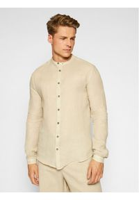 Imperial Koszula CYW6BKCTD Beżowy Regular Fit. Kolor: beżowy