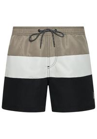 Jack & Jones - Jack&Jones Szorty kąpielowe Bali 12183825 Szary Regular Fit. Kolor: szary
