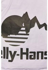 Fioletowa kurtka Helly Hansen bez kaptura, casualowa, na co dzień