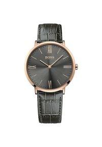 Czarny zegarek HUGO BOSS elegancki