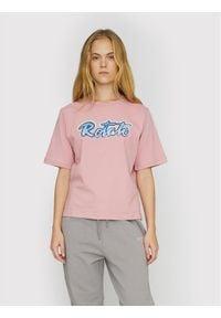 ROTATE T-Shirt Asvera RT460 Różowy Loose Fit. Kolor: różowy