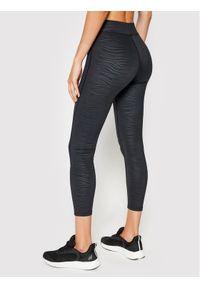 Czarne legginsy 4f