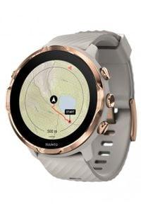 SUUNTO - Zegarek sportowy Suunto 7 Sandstone Rosegold. Rodzaj zegarka: cyfrowe. Styl: sportowy