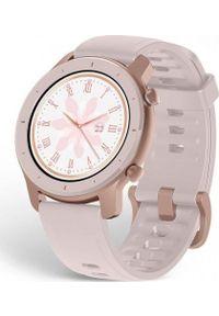 AMAZFIT - Smartwatch Amazfit GTR 42mm Różowy (A1910PK). Rodzaj zegarka: smartwatch. Kolor: różowy