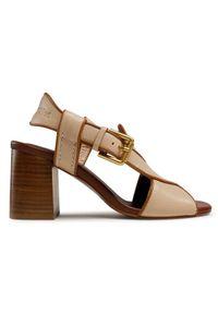 Beżowe sandały See By Chloé